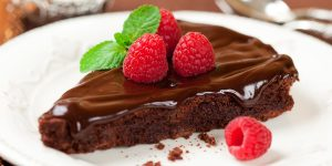 Easy Chocolate Cake with Coffee Frosting Recipe