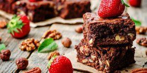 Easy Coffee Walnut Brownies Recipe