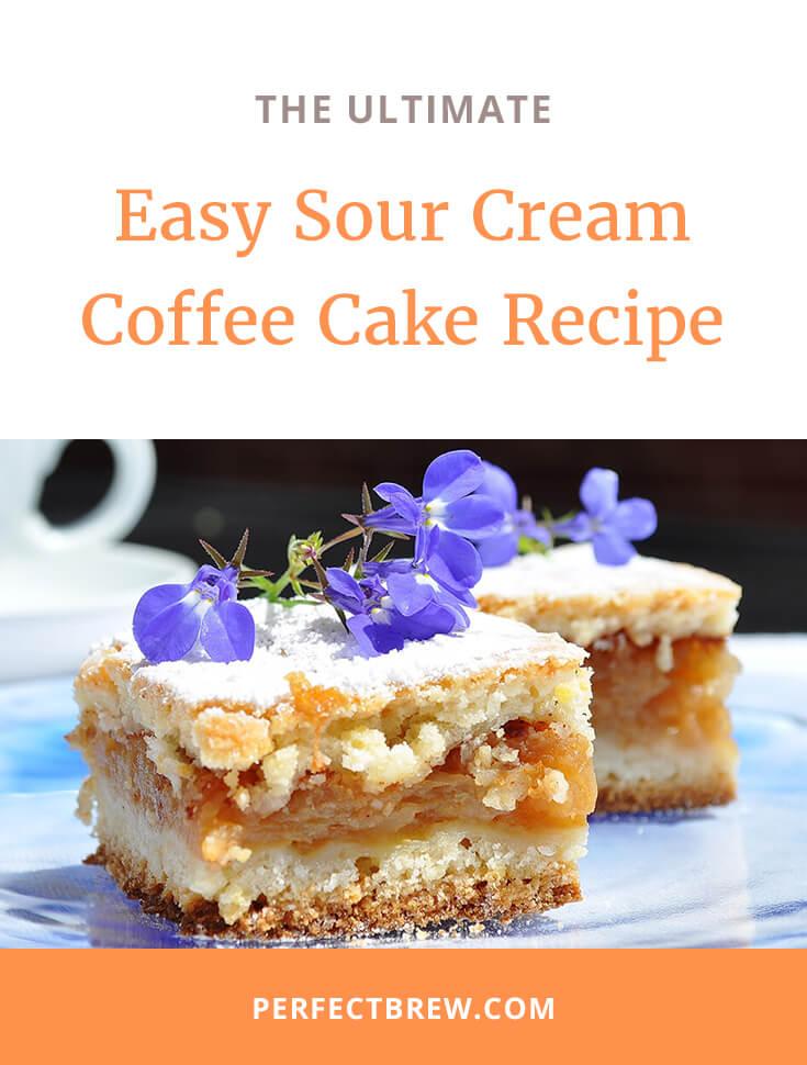 Easy Sour Cream Coffee Cake Recipe-2