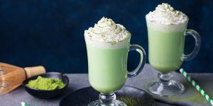 iced green tea frappuccino