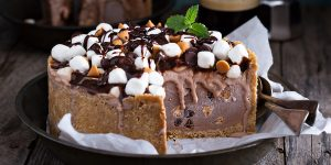 Chocolate Coffee Ice Cream Cake Recipe XS Perfect Brew