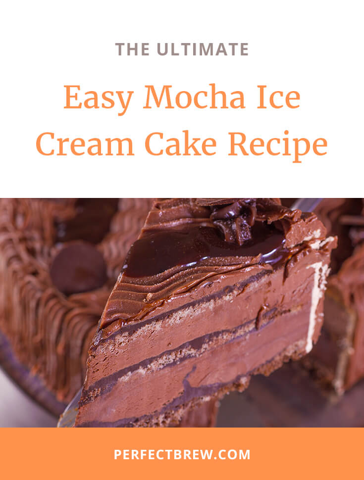 Easy Mocha Ice Cream Cake Recipe-2