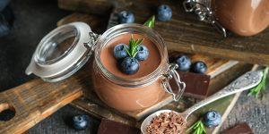 Hazelnut Mocha Chocolate Mousse Recipe