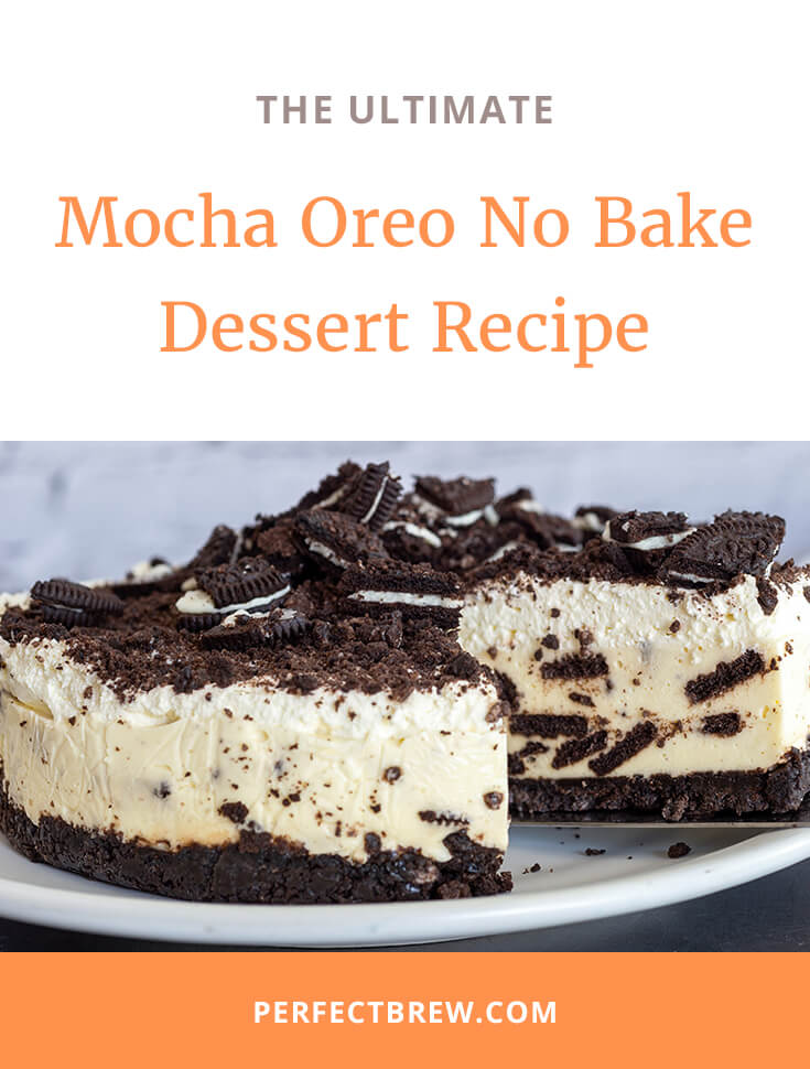 Mocha Oreo No Bake Dessert Recipe-2