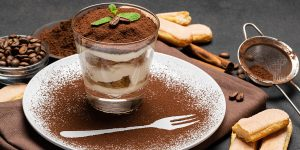 No Bake Eggless Tiramisu Dessert Recipe