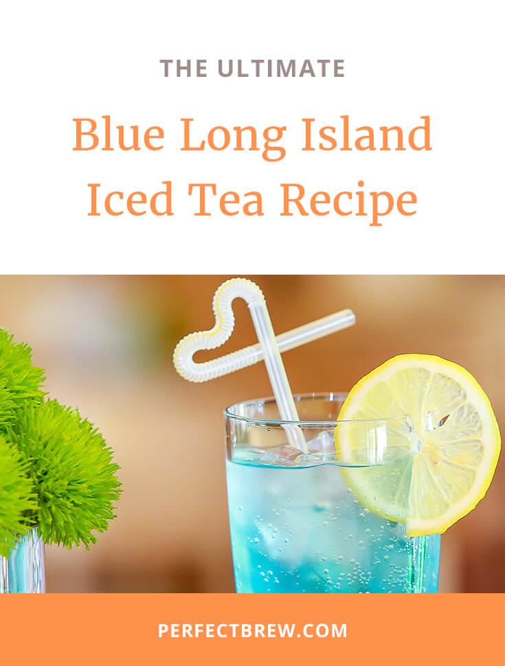 Blue Long Island Iced Tea Recipe