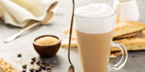 Coconut Milk Latte Coffee Recipe